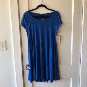 NWT Karen Kane Blue T-Shirt Dress